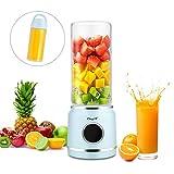 HS Onsing Licuadora Portátil,Batidora de Vaso Individual USB Recargable,Mezclador de Frutas-Adecuado para Frutas y Verduras,para...