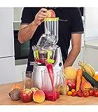 Cecotec Cecojuicer Pro Licuadora de Prensado en Frío, Para Frutas y Verduras, Extractor de Jugo con Canal XL para Fruta Entera,...