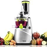 Cecotec Licuadora de Prensado en Frío Cecojuicer Pro. Para Frutas y Verduras, Extractor de Jugo con Canal XL para Fruta Entera,...