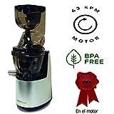 Juissen último modelo extractor zumo verde - Libre PVC - BPA FREE prensado en frio COLD PRESS Licuadora Exprimidor naranjas...