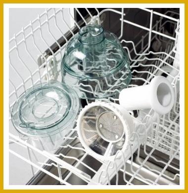 Aprendea limpiar tu Moulinex Vitae en el lavavajillas