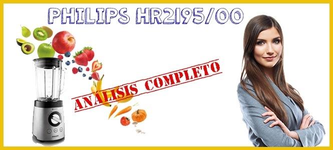Licuadora barata y buena: philips 2195