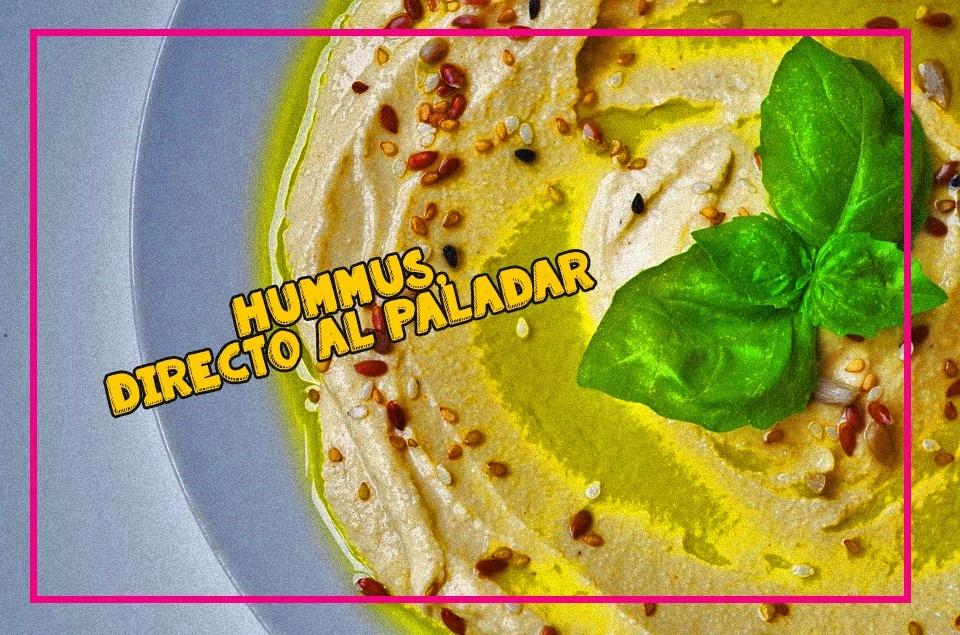 receta fácil de hummus en licuadora