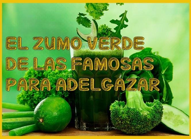 jugo de frutas y verduras para adelgazar