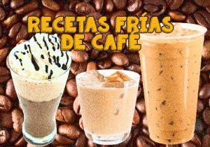 helado con café en licuadora