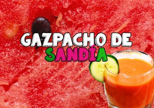 receta gazpacho de sandía
