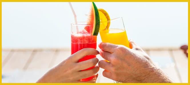 Calma la sed con estas 10 recetas de bebidas refrescantes
