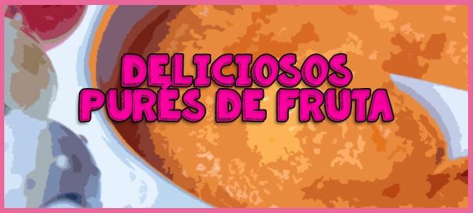 pure de frutas en licuadora