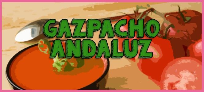gazpacho andaluz licuadora