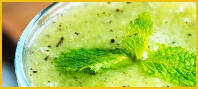 jugo verde receta en licuadora