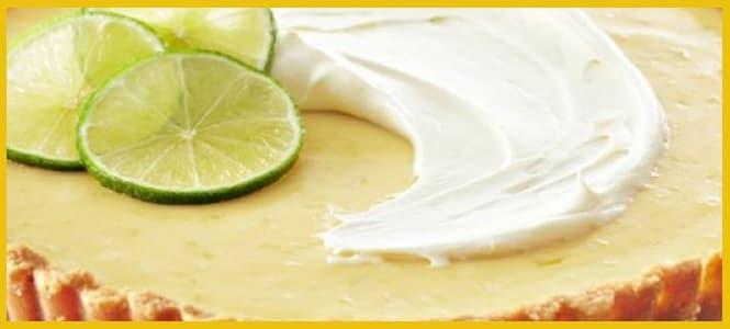 receta de pay de limon frio sin hornear