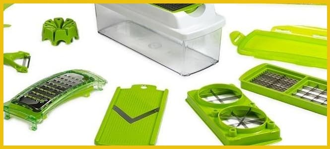 utensilios para cortar verduras